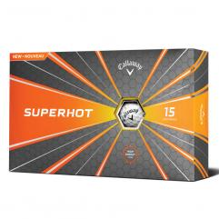 New Callaway Superhot 70 Golf Balls (15 ball box) - White