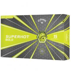 New Callaway Superhot 70 Golf Balls (15 ball box) - yellow