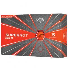 New Callaway Superhot 70 Golf Balls (15 ball box) - orange
