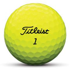 New Titleist Tour Soft - Yellow