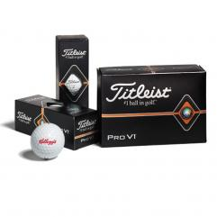 New 2019 Titleist Pro V1 Half-Dozen Box